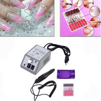 Professional Electric Nail Polisher File Kit Grinding Polisher Red Box 2000 Manicure Machine 220V