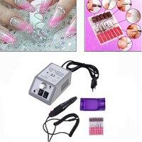 Professional Electric Nail Polisher File Kit Grinding Polisher Red Box 2000 Manicure Machine 220V