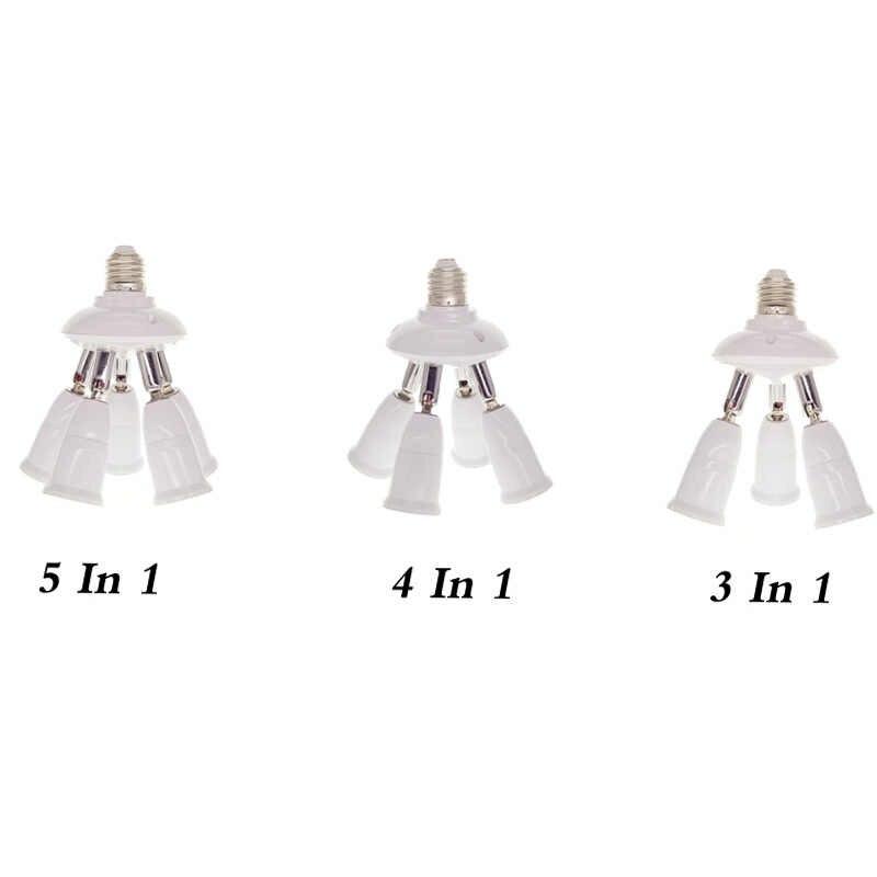 E27 Socket SplitterLamp Base Adjustable Base Light Lamp Bulb Adapter Holder Socket Splitter 3 in 1 /4 in1/5 in 1 With Best Price