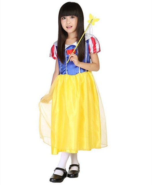 Aliexpress.com : Buy 2017 Lovely Snow White Girls Cosplay Clothes ...