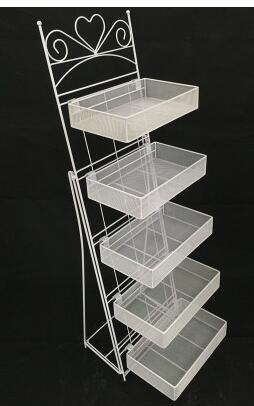 Cosmetics shelves display shelf. Mask shelf. Nail salons. The exhibition stand nail polish.