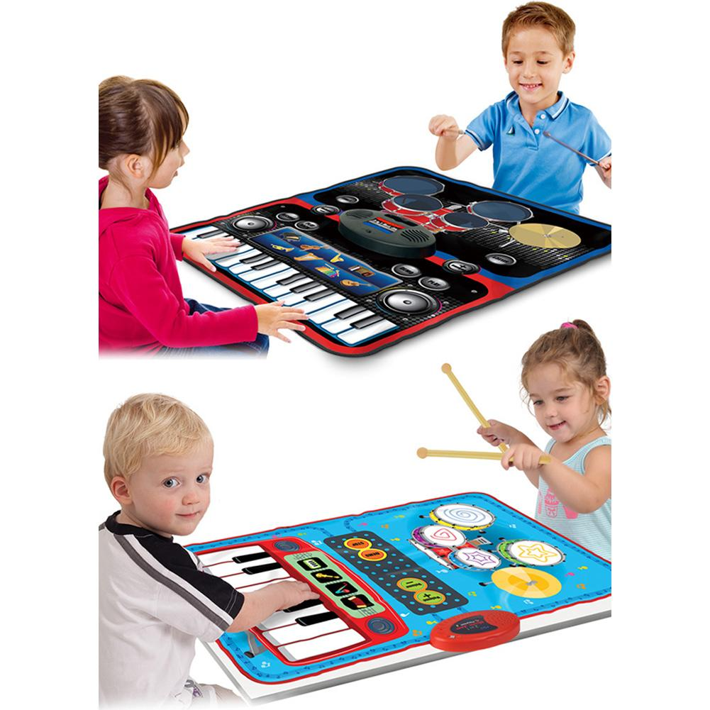 Children's Dance Mat Home Multifunctional Jazz Drum Electric Piano Early Education Puzzle Music Game Mat Blanket Beautiful Music