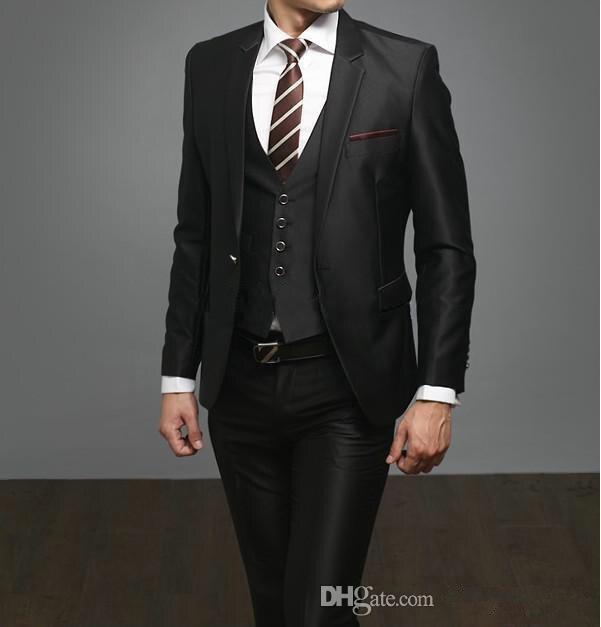 Mens Formal Vest For Wedding Groomsmen Suits 2015 New
