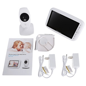 Image 5 - 876 baby monitor with camera 7 inch LCD IR night light vision Baby Intercom Lullaby Temperature Sensor baby camera with monitor