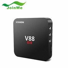 10pcs V88 Android 5.1 4K TV Box RK3229 Mali-400 1G RAM 8G eMMC 4 USB 4K WiFi Quad Core 1.5GHZ KODI Media Player Mini PC