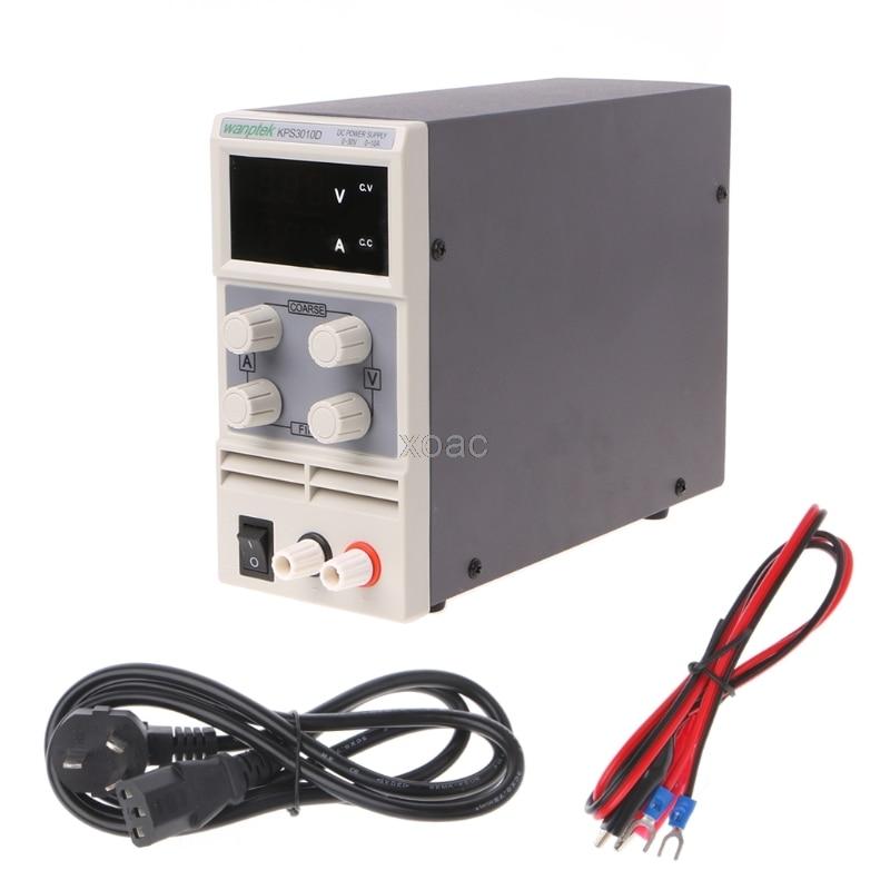 AC 110/220V To DC 0-30V 0-30A Switch Power Supply Adapter Adjustable For LED Strip   M13 dropship ac 85v 265v to 20 38v 600ma power supply driver adapter for led light lamp