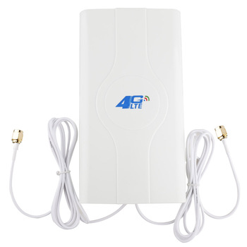 88dBI 3G 4G LTE antenne Mobiele antenne Booster mImo Panel Antenne 2 * SMA-male/TS9 /CRC9 Connector met 2M Kabel 700 ~ 2600Mhz