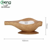 5W Portable Electric Aroma Diffuser Office Ultrasonic Air Humidifier Fragrance Essential Oil Diffuser Mist Fog Maker