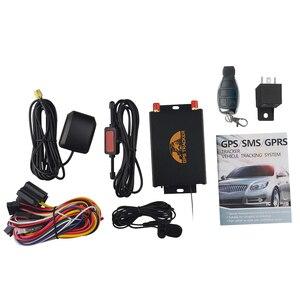 Image 5 - Tracker GPS pour voiture GPS105B, localisateur TK105B, télécommande, fente double SIM, caméra/carburant, coupure de carburant 100% cobalt en option