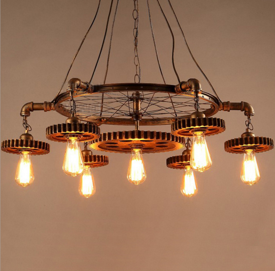 Online Get Cheap Rustic Lighting Fixtures Aliexpress – Rustic Wrought Iron Chandelier