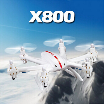Gravity Control Mode Drone MJX X800 2.4G RC quadcopter AR.drone rc heliCopter 6-axis Can add C4002 camera & C4005 FPV quadcopter image