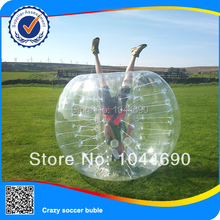 Frees shipping, HOT ST03 0.8mm PVC 1.5m Inflatable Bumper Balls, Human Bubble ,Boddy Zorb Ball,Soccer Football,Bubble Soccer