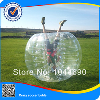 Frees shipping, HOT ST03 0.8mm PVC 1.5m Inflatable Bumper Balls, Human Bubble ,Body Zorb Ball,Soccer Football,Bubble Ball Soccer