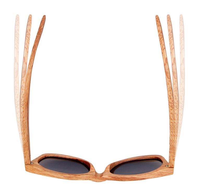 Bem embalado para a proteção o que há na caixa 1x1 caixa de presente de madeira  1x1 saco pp 1x1 saco de tecido 1x1 óculos de sol 1x1 cartão de teste UV ... 9b1e682740