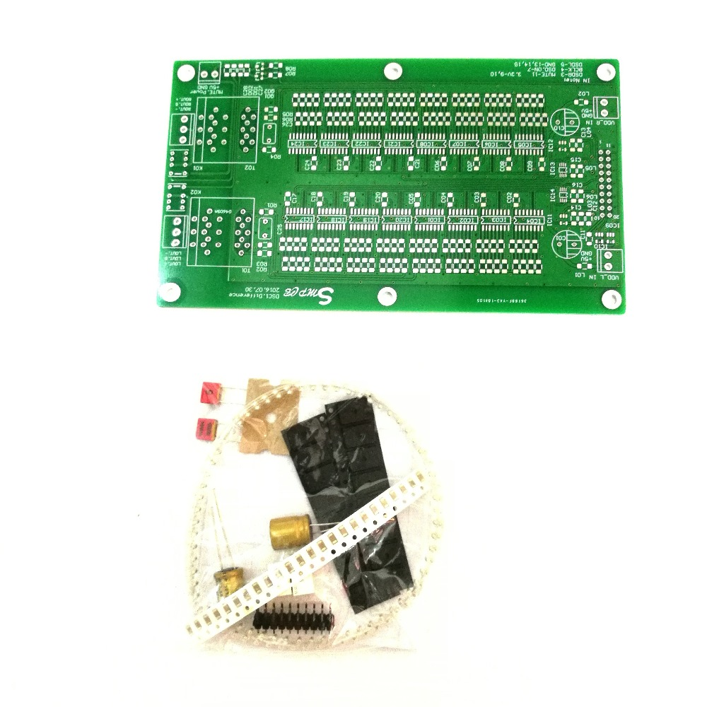 Differential DSC1 DAC DSD Hard Decode SMD Component Kit