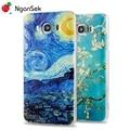 J510 J710 Case Vincent Van Gogh 3D Painting Phone Case For Samsung J510 J710 2016 Version Case Clear Soft Case [NganSek The Art]