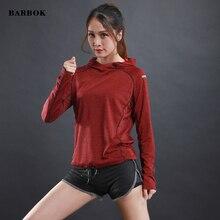 WOSAWE лето весна женские Беговые футболки для бега активные Длинные рукава быстросохнущие Спортивная футболка светоотражающие беговые футболки