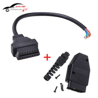 Universal OBD2 II Opening Cable 30cm OBD 2 16Pin Male To Female Extension Connector Diagnostic Extender