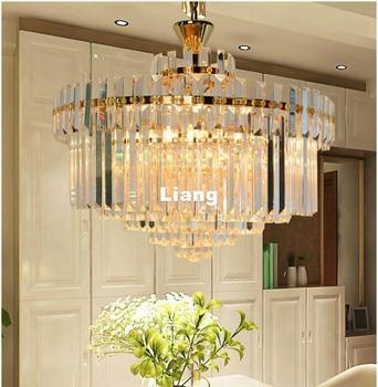 Free Shipping Crystal Ceiling Lamp For Bedroom Modern Nordic D65cm Home Decoration LED Lighting Fixtures LED Lustres De Cristal