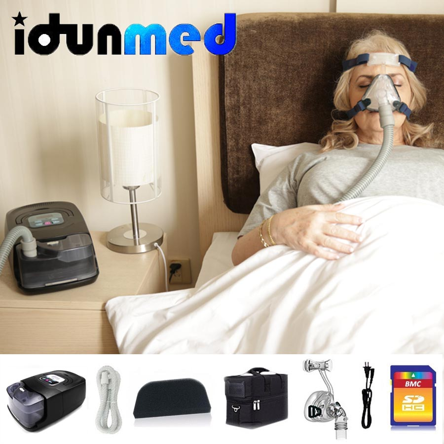 BMC Auto CPAP Machine with Air Filter and Humidifier to Prevent Sleep Apnea 2