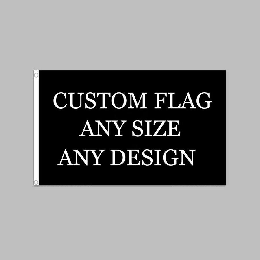 Ev ve Bahçe'ten Bayraklar, Pankartlar ve Aksesuarlar'de Özel 150 cm 90 cm Bayrağı Tek Taraflı Polyester Afiş Özelleştirilmiş bayrakları ve pankartlar 3ft * 5ft Tüm Renk Tüm Tasarımlar'da  Grup 1