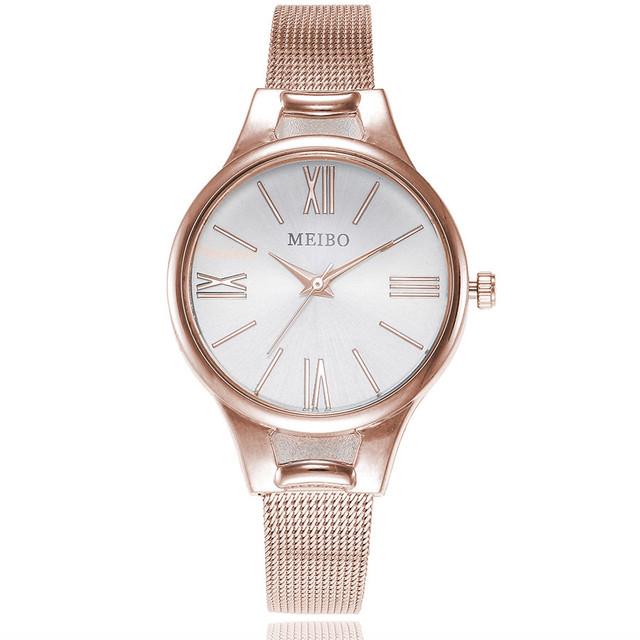 Women Watches Bayan Kol Saati Fashion Rose Gold Silver Luxury Ladies Watch For Women reloj mujer saat relogio zegarek damski 30Q