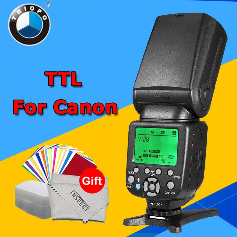 Triopo TR-586EX C Wireless TTL Flash Speedlite TR586EX for Canon EOS 5D Mark II 5D3 7D 6D 70D 650D 5DIII 5D II 60D vs YN568EXII triopo wireless ttl flash speedlite speedlight tr 586ex c for canon eos 5d mark ii 6d 1200d dslr camera as yongnuo yn 568ex ii