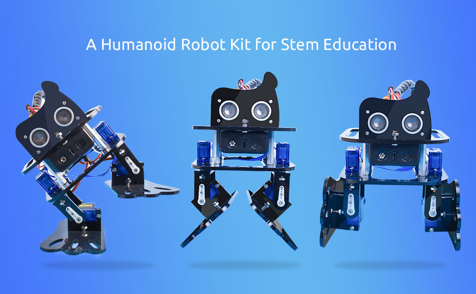 SunFounder DIY 4-DOF Robot Kit -Sloth Learning Kit for Arduino Nano DIY Robot (8)