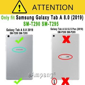 Image 4 - 10 teile/los Gehärtetem Glas Für Samsung Galaxy Tab EINE 8 2019 8,0 SM T290 SM T295 T290 T295 Screen Protector Tablet Schutz film