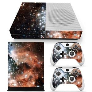 Image 5 - כוכב ויניל מדבקת עור מגן עבור Microsoft Xbox אחת SLIM ו 2 בקר skins מדבקות לxboxone S