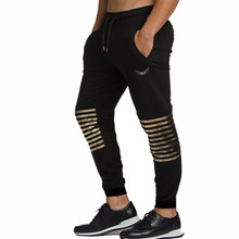 2018 Muscular giants Brand Cotton Pants Men Joggers For Man Brand Clothing  Fashion Style Tactical Pants ad192af44