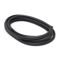 Rubber Tape Car Sealing Door Gasket Strip Edge Windproof Black 3meters Universal Useful High Quality