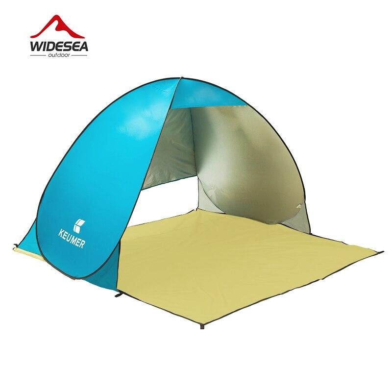 2017 summer KEUMER pop up open beach tent 3 4 persons Manufacturers sold outdoor font b