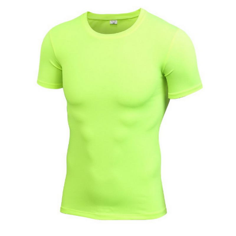 Mens Tops Compression T Shirt Base Layer Short Sleeve T-Shirts Tight