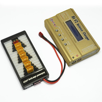 HTRC 80W 6A IMAX B6 V2 RC Balance Charger Discharger With XT60 Parallel Charging Adapter Board