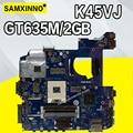 K45VJ материнская плата GT635M-2G для For Asus K45VD A45V K45VJ K45VS A45VJ материнская плата для ноутбука K45VJ материнская плата K45VJ материнская плата Тест 100%