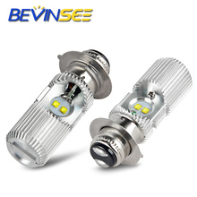 LED Headlight Bulbs Head Fog Lamp Light P15D H6M For YAMAHA Bear Tracker Bruin 250 Big 350 400 Blaster 200 Breeze 125