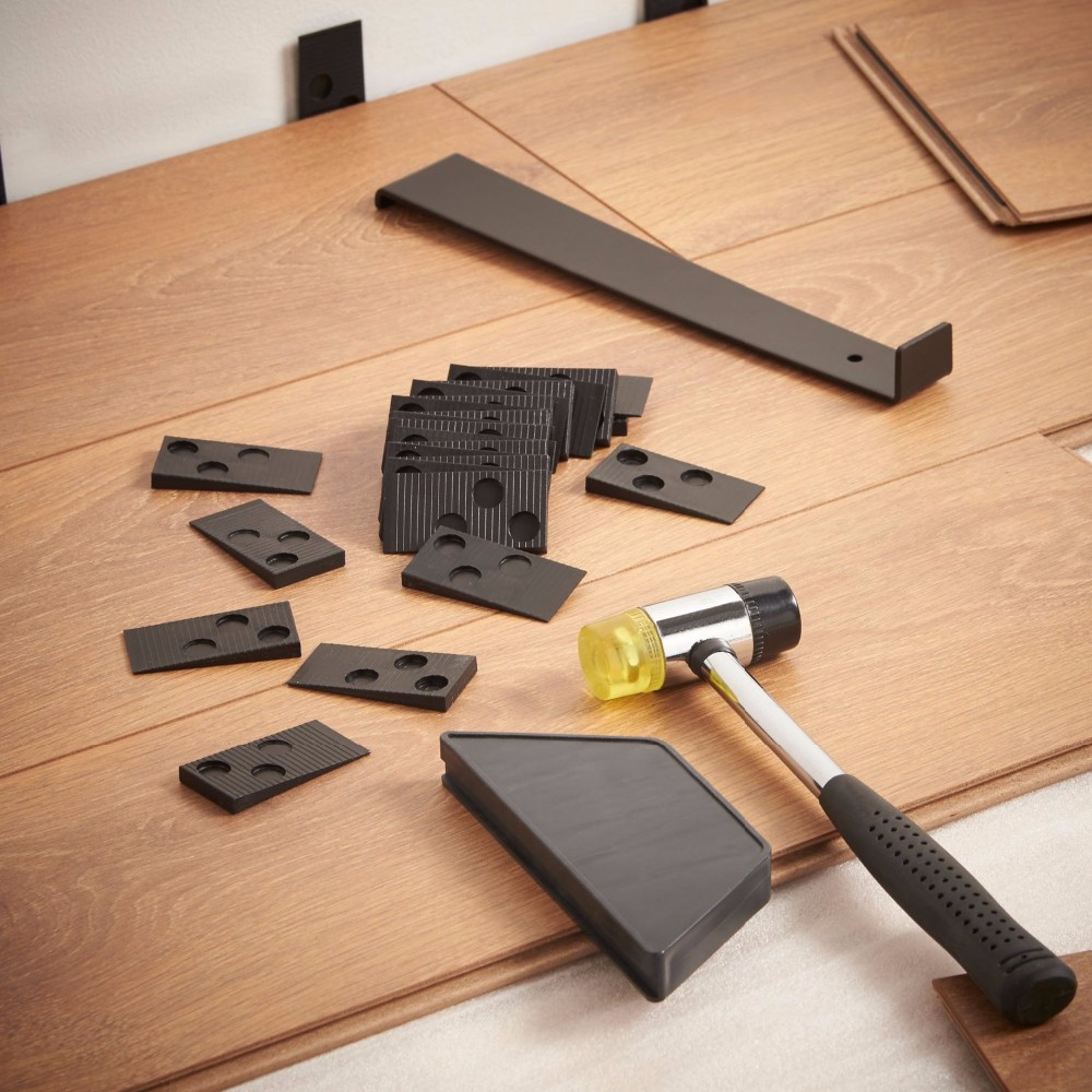 Karšto išpardavimo laminato grindų montavimo rinkinys su sriegimo - Įrankių komplektai - Nuotrauka 6