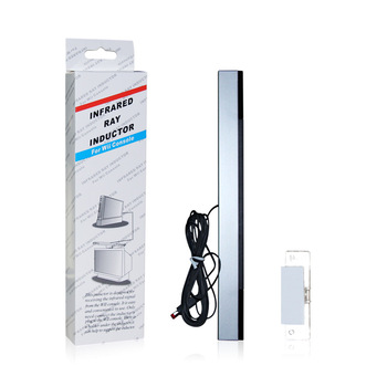 EastVita1Pcs 유선 적외선 IR 신호 광선 모션 센서 바/수신기 U Nintend Wii PC 시뮬레이터 센서 이동 플레이어