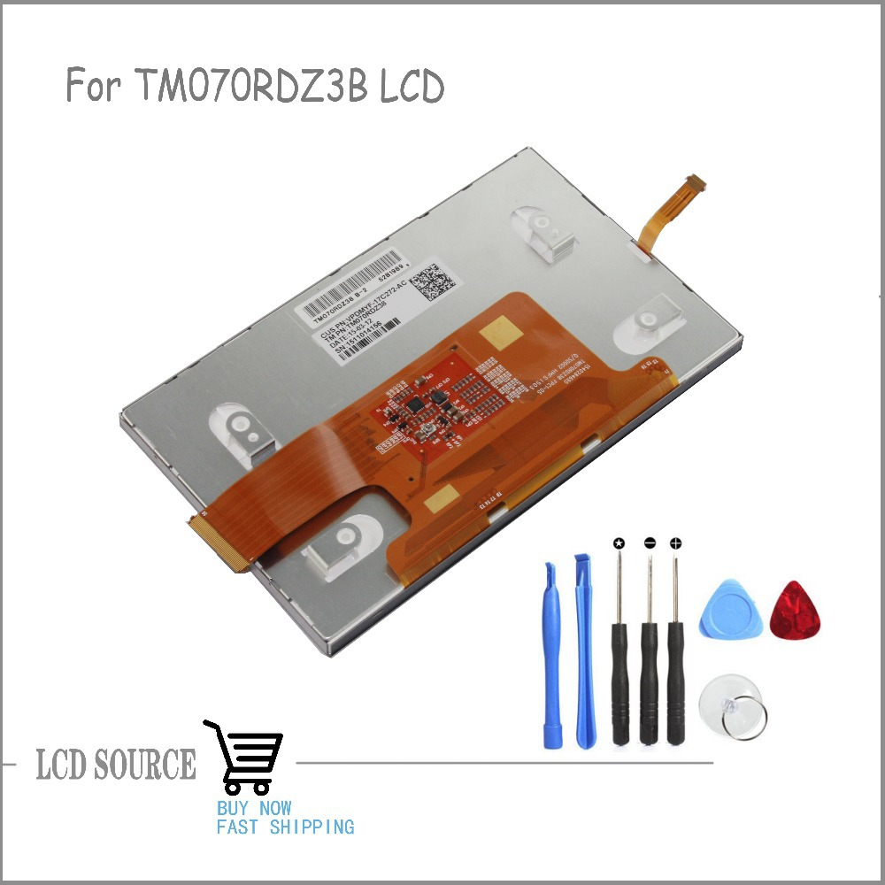 OEM 7 Inch TM070RDZ3B LCD Screen TFT LCD Display Panel Glass Replacement Parts Free Tools