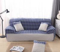 Plaid Printed stretch furniture sofa covers for Hally Living Room Elastic Converts Cover Pattern capa de sofa