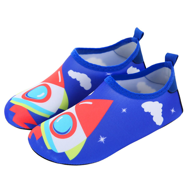 Children skin care warm shoes boys and girls swimming breathable beach shoes kid non slip mesh parent child shoes big size 22 35 in Upstream Shoes from Sports Entertainment