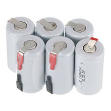 2-20Pcs 1.2V 1800mAh Sub C SC Ni-Cd Battery Rechargeable Nicd Batteries with PCB For Electronic Drill Screw Welding Tools T10