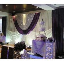 CreativePurple Wedding Backdrop Paillette Curtain Backdrop Wedding Backdrop Drape Party Decoration Supplies Customized