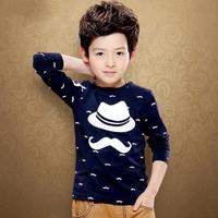 Spring And Fall Kids Clothes For Boys Print Pattern Children Shirt Long Sleeve Ropa Ninos Fashion