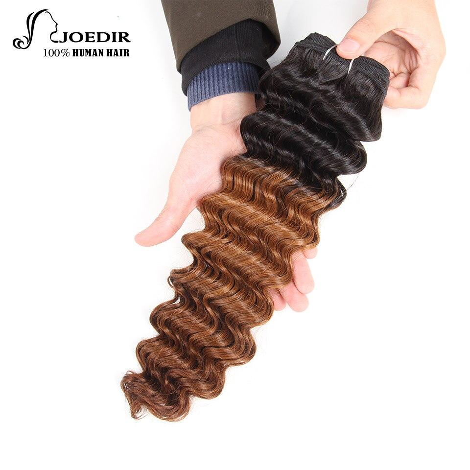 Joedir Deep Wave Bundles 1 Piece Only Brazilian Human Hair Weaving - Skönhet och hälsa - Foto 2