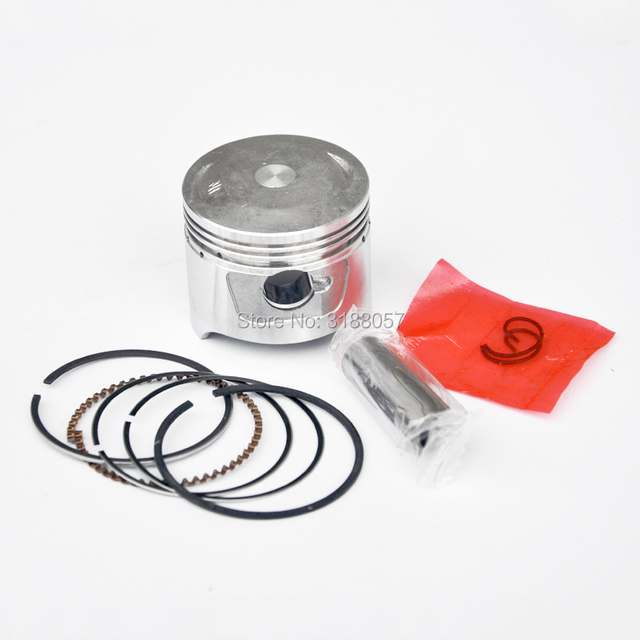 US $14 5 |47mm Piston Pin Rings SET For 90cc Honda Loncin Quad Pit Bike  Lifan Engine Cylinder JH70 GY6 80cc -in Pistons & Rings from Automobiles &
