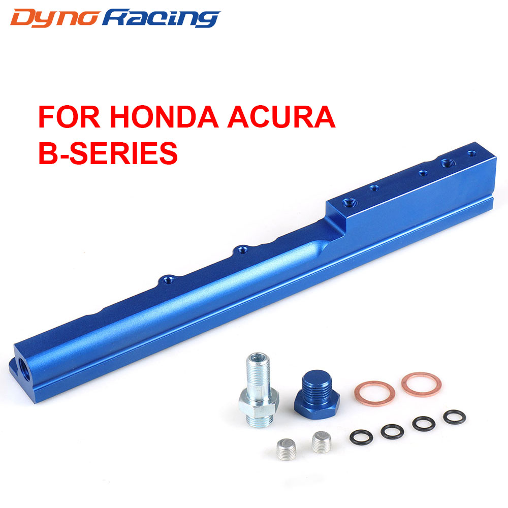HONDA CIVIC ACURA INTEGRA B16 B18 B16A B18A ALUMINUM FUEL RAIL RACING DOHC EK SI