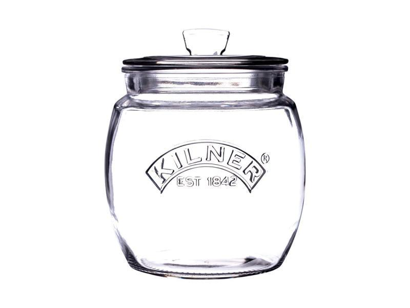 Storage jar KILNER, Push-up Halter Top, 0,85 L senna sketch a brow pencil light taupe карандаш для бровей 0 09 г