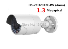 Original English Version DS-2CD2012F-IW IR 30m Bullet Network IP Camera with WiFI PoE IP66,1.3MP Mini Bullet CCTV Camera